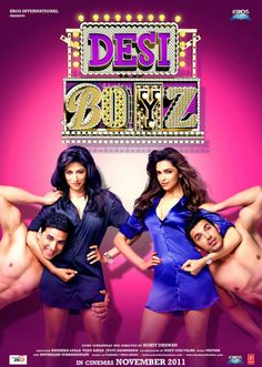 Desi Boyz Hindi Movie Online - Akshay Kumar, John Abraham and Deepika Padukone. Directed by Rohit Dhawan. Music by Pritam. 2011 [A] Blu-Ray w. Hindi Bollywood Movies, Bollywood Posters, Tamil Movies, Bollywood Actors, Movies To Watch Hindi, Movies To Watch Online, Desi Boyz, Telugu Movies Online, Download Free Movies Online