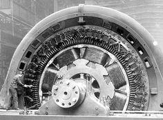 Walchenseekraftwerk - Siemens Generator am Prüffeld