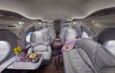 Inside Luxury private jets of the world's richest billionaires-Jackie Chan, Saudi Prince Al-Waleed bin Talal and Donald Trump photos taken by Nick Gleis « Amazing World Pictures