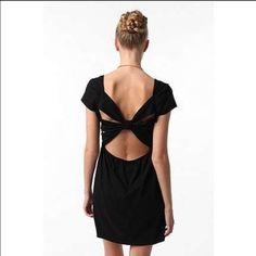 FLASH SALE 2NITE Urban outfitters open back dress Worn once. No flaws. Elastic waist. Open back now design. Mini length. No trades! *price is firm Urban Outfitters Dresses Backless