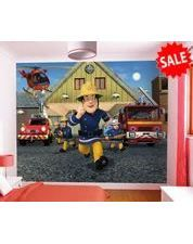Charming Fireman Sam Wall Mural Amazing Pictures