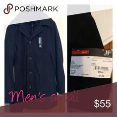 Mens Jferrar coat size small new Beautiful jacket jf j.ferrar Jackets & Coats