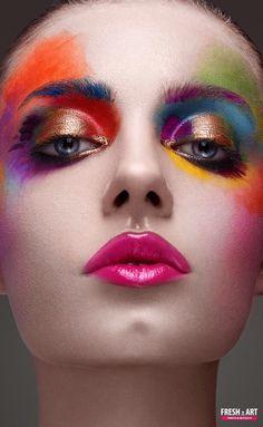 Fashion make-up by Yurii Fresh-art on 500px