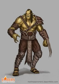 Second Orc for Embers by martinpazromero on DeviantArt