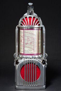 Shyvers Multiphone Art Deco Jukebox Selector with Bracket - Incredible Skyscraper Design |