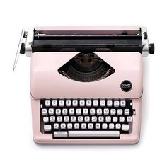 * Codes de réduction non valables sur les machines Cette machine à écrire vieux rose au look retro vous permettra de réaliser de nombreux projets. ...