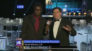LOS ANGELES — FOX 4 Film Critics Shawn Edwards and Russ Simmons are in Santa Monica, Calif., where they gave...