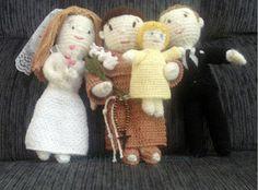 married and Saint Antonio crochet