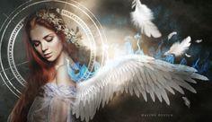 Ice-angel by AlineDesignBrasil.deviantart.com on @DeviantArt