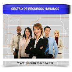 GESTÃO DE RECURSOS HUMANOS – Planejamento e gerenciamento de atividades: planos de carreira, avaliação, treinamento, seleção, elaboração de estratégias organizacionais.       Atuação: RH de empresas e instituições