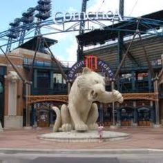 Catch A Baseball Game At Comerica Park Home Of The Detroit Tigers
