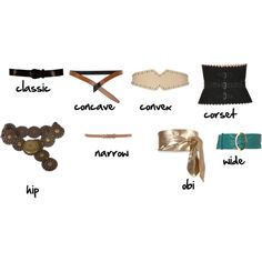 """""""Belt Glossary"""" - by imogenl on Polyvore"""