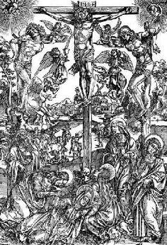 Albrecht Dürer - Large Crucifixion / Dürer / c.1496