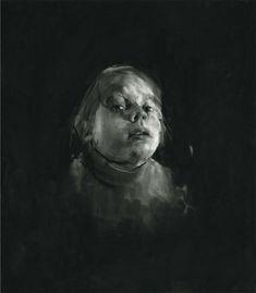 sophie jodoin drawing black white