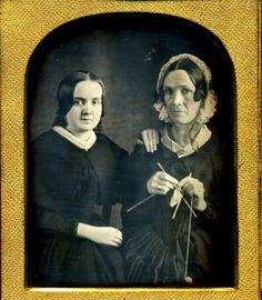Daughter and Mother  Daguerreotype - c.1850
