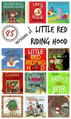 Red Riding Hood Books for Kids