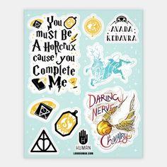 Wizard School Stickers