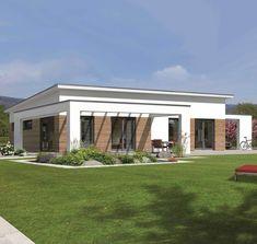Fingerhut Haus - Vespero - New Ideas Bungalow Decor, Bungalow Homes, Bungalows, Interior Exterior, Exterior Design, Backyard Signs, Architecture Drawing Plan, Villa, Sims 4 Houses