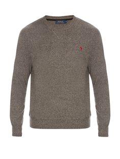 Crew-neck cotton sweatshirt | Polo Ralph Lauren