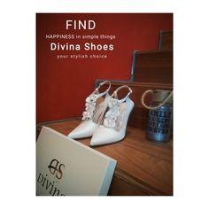 Ρομαντικές Νυφικές γόβες Divina με δερμάτινα λουλούδια και πέρλες Stylish, Simple, Gifts, Shoes, Presents, Zapatos, Shoes Outlet, Shoe, Favors