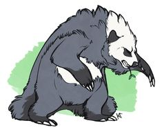 Pangoro from pokemon x or y by Susiron on @deviantART