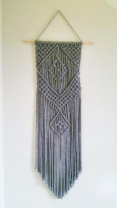 Macrame Wall Hanging Gray
