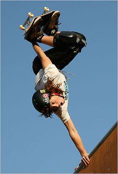 Professional Skateboarder, Shaun White.  Two time Olympic gold medal winner.