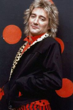 Rod Stewart, one of my first crushes. My first guy crush was, James at 16. Most people will not know who that is.