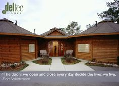 The doors we open and close every day decide the lives we live. -Flora Whittemore  #healthylifestyle #healthyhome