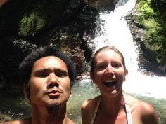 Epic #waterfall in Ojochal #costarica  such fun! such bliss! ;)  #followyourdreams
