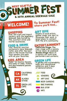 West Seattle Summer Fest  #WestSeattle