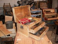 two drawer tool chest