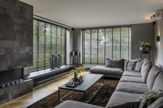Blinds, Flat Screen, Couch, Curtains, Living Room, Furniture, Design, Home Decor, Interiors