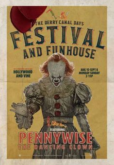 Love, Love, Love Me Some Pennywise! 🎈🎈🎈🎈🎈🎈🎈🎈🎈🎈🎈… Love, Love, Love Me Some Pennywise! Penny Wise Clown, Poster It, Poster Prints, Horror Movie Characters, Horror Movie Posters, Film Posters, Posters Vintage, Vintage Movies, Pennywise The Dancing Clown