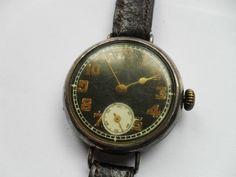 Military Trench Watch 1912   eBay. Radium-painted dial.
