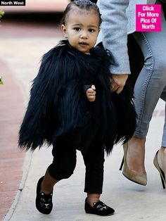 Kim Kardashian: North West Is A Mini Fashionista, Obsessed With Shoes