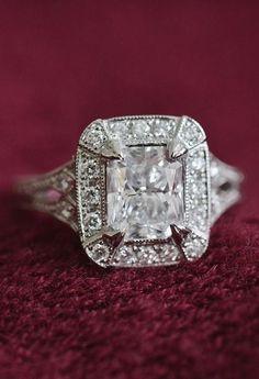Gorgeous Vintage Diamond Ring