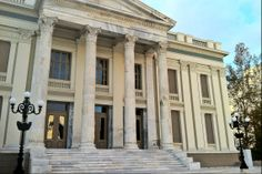 The impressive Municipal Theatre of Piraeus was recently restored to its original form after years of neglect. Athens, The Locals, Theatre, Greece, Restoration, Walking, The Originals, City, Travel