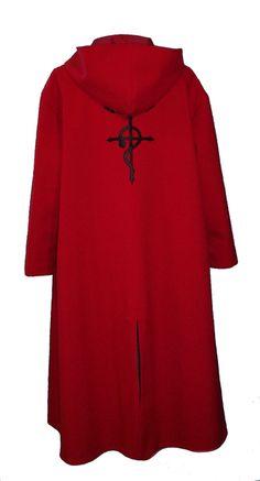 Full Metal Alchemist cloak