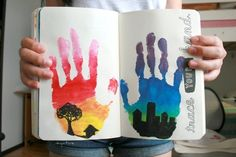 who needs ordinary hand prints when you can have awesome ones?