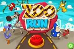 [Mobile game] Zoo Run on Behance