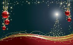 Świąteczna, Gwiazdki, Choinka, Grafika, Kompozycja, Bombki