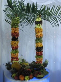 Our fruit palm trees
