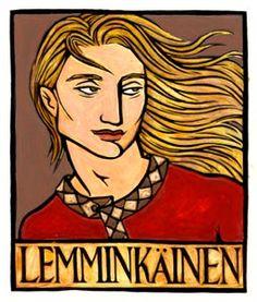 Lemminkainen, the Hero of the Kalevala, the national epic of Finland.