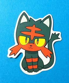 Celebi Psychic Grass Mythical Pokemon Go Skateboard Laptop Phone Decal Sticker