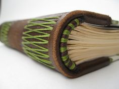 Photo Gallery - 49 unusual ways to make endbands for your bookbinding project. Enjoy!
