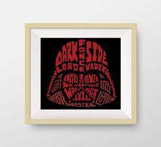 Head of Darth Vader Cross stitch pattern Star by NataliNeedlework