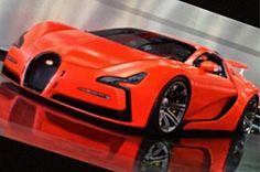 Cars - Bugatti Chiron : peut-être la première photo ! - http://lesvoitures.fr/bugatti-chiron/