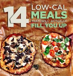 14 Low-Cal Meals That Will Actually Fill You Up... gracias buzzfeed
