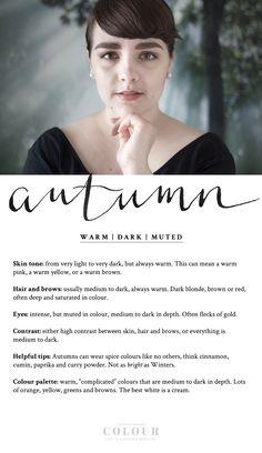 Comprehending Colour: the Autumn | from lostinaspotlessmind.com